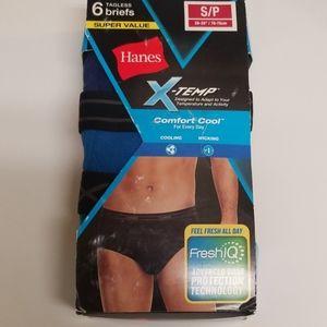Hanes X temp Brief  6 pack